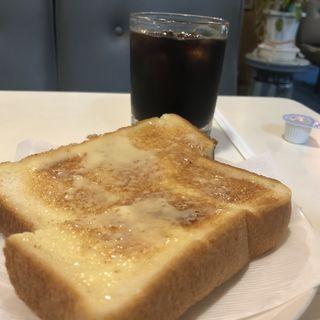 トースト アイスコーヒー