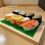 上かににぎり寿司