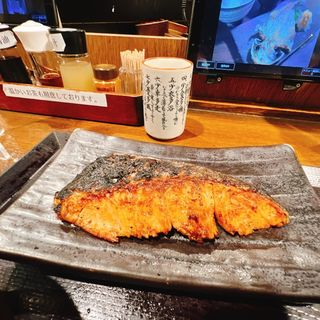 厚切り銀鮭塩焼き定食(しんぱち食堂 西武新宿店 )