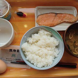こだわりの卵かけご飯朝定食