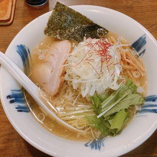 塩ラーメン(粋な一生 (いきないっしょう))