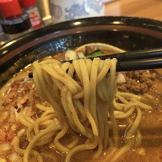 濃厚にぼし担々麺