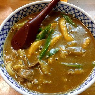 カレーうどん(香川 (かがわ))