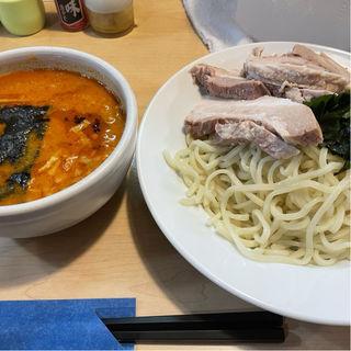 肉入り味噌つけ麺 6辛