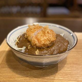 カレーカツ丼