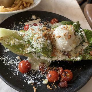 グリルしたロメインレタスのサラダ(CAFE GITANE )