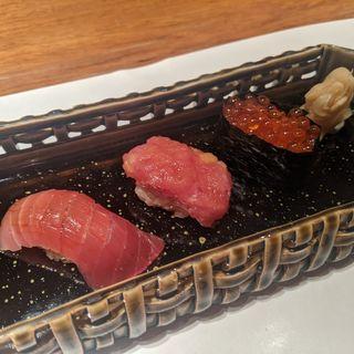 〆の握り寿司