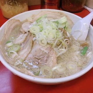 チャーシュー麺(醤油)