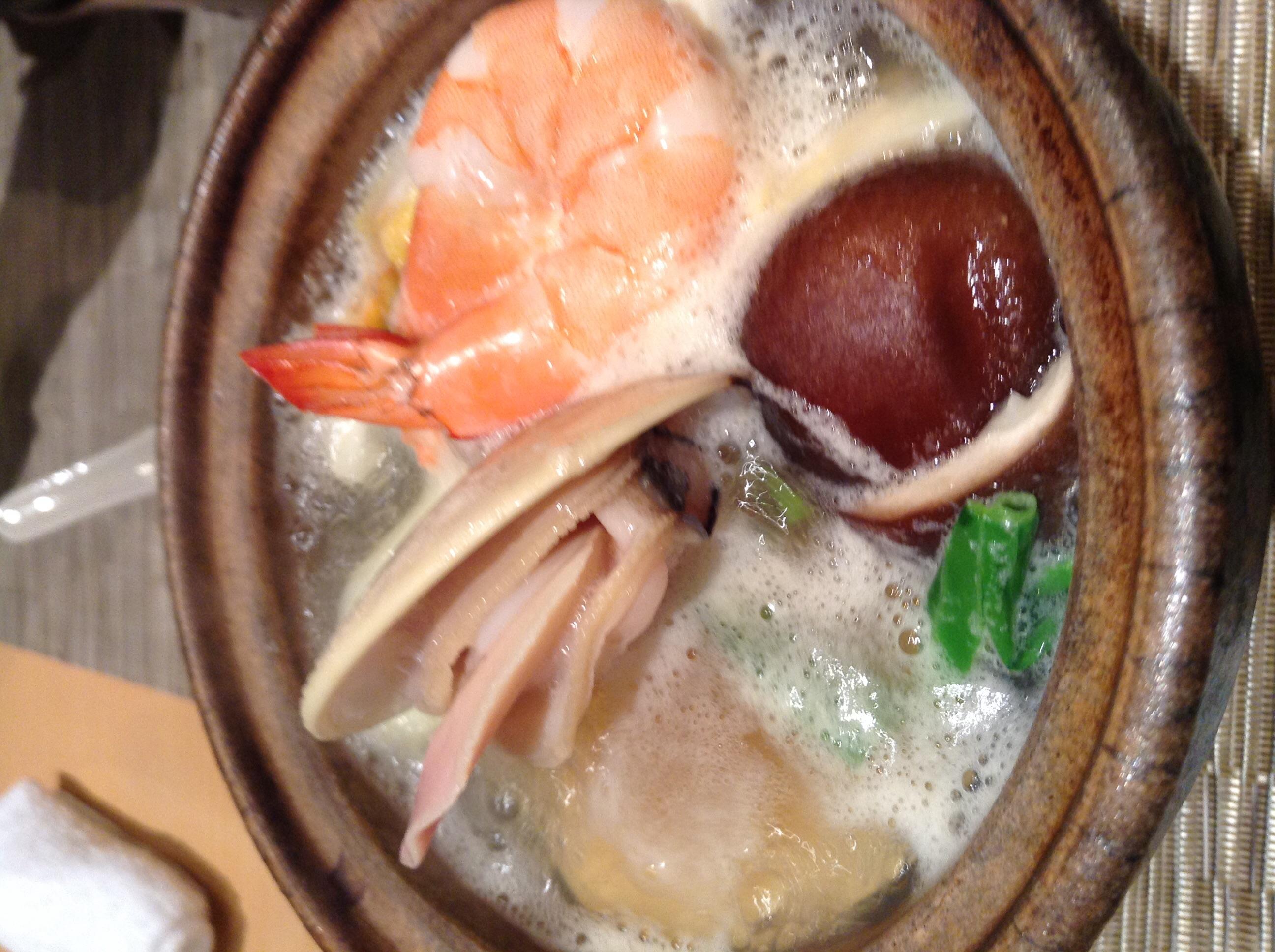 ハマグリ鍋