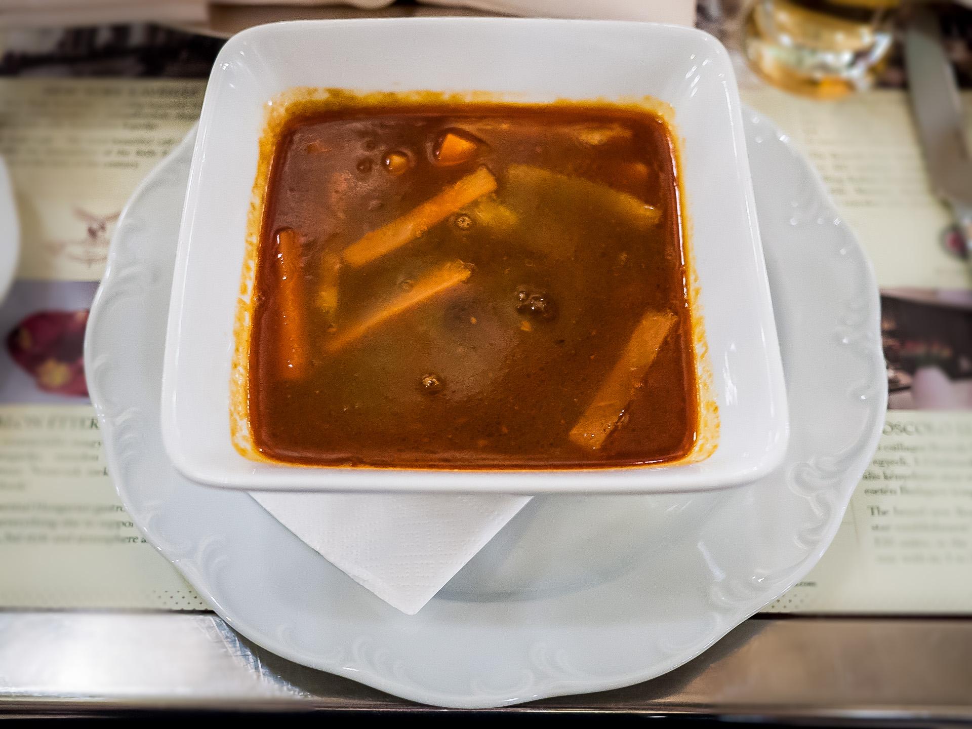 ビーフスープ