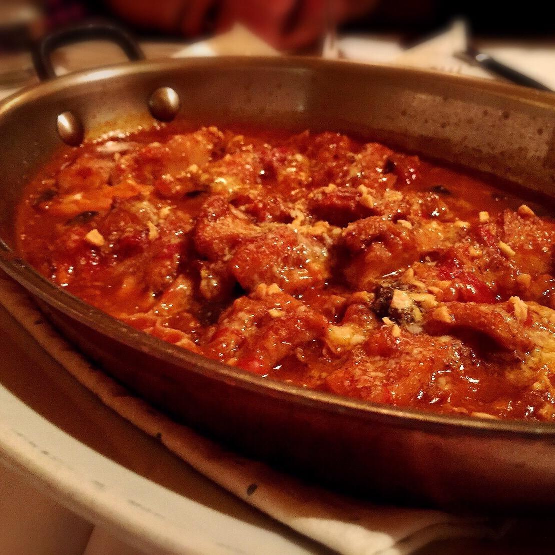 ラム肉の煮込み