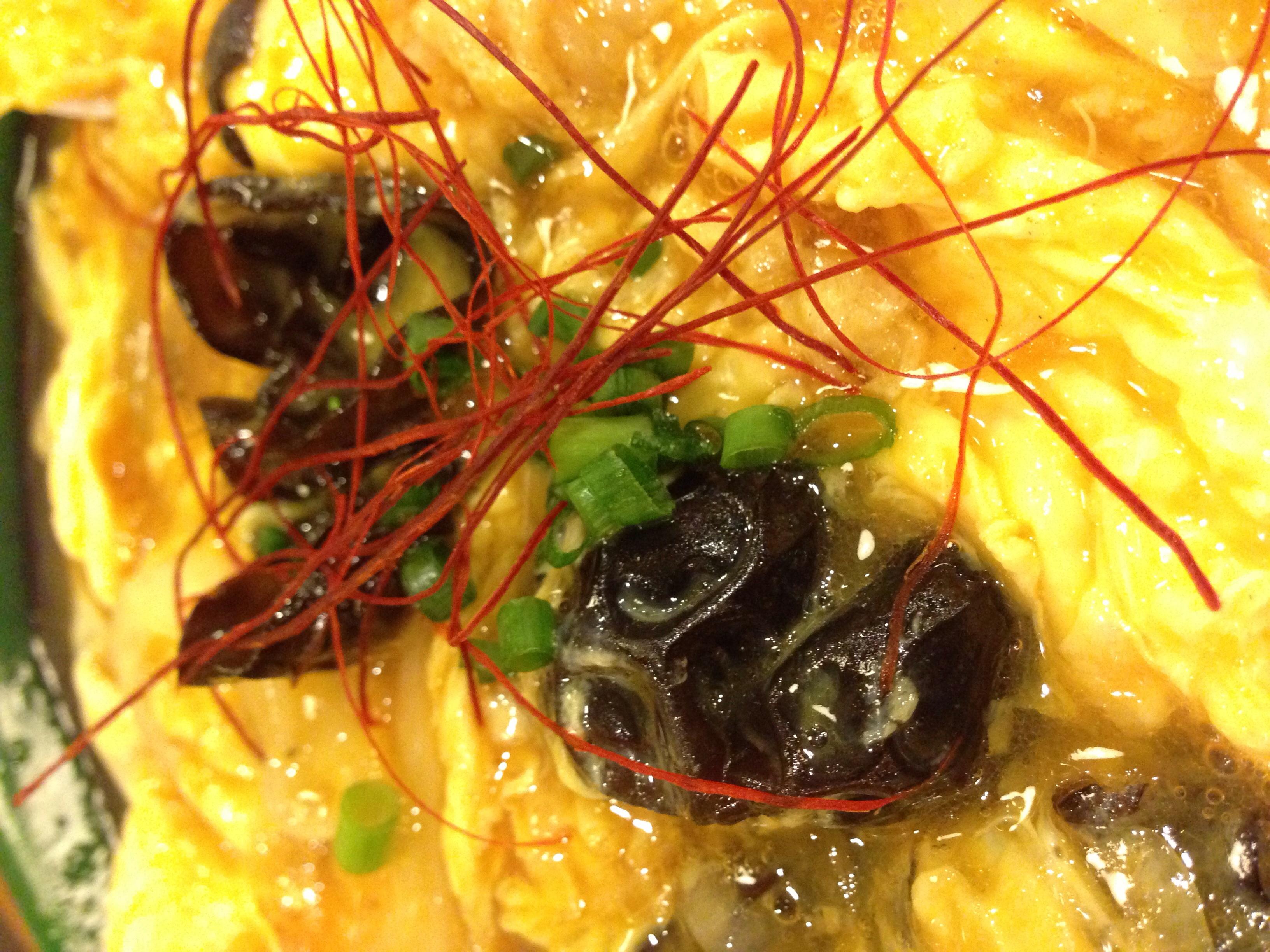 キクラゲの炒め物