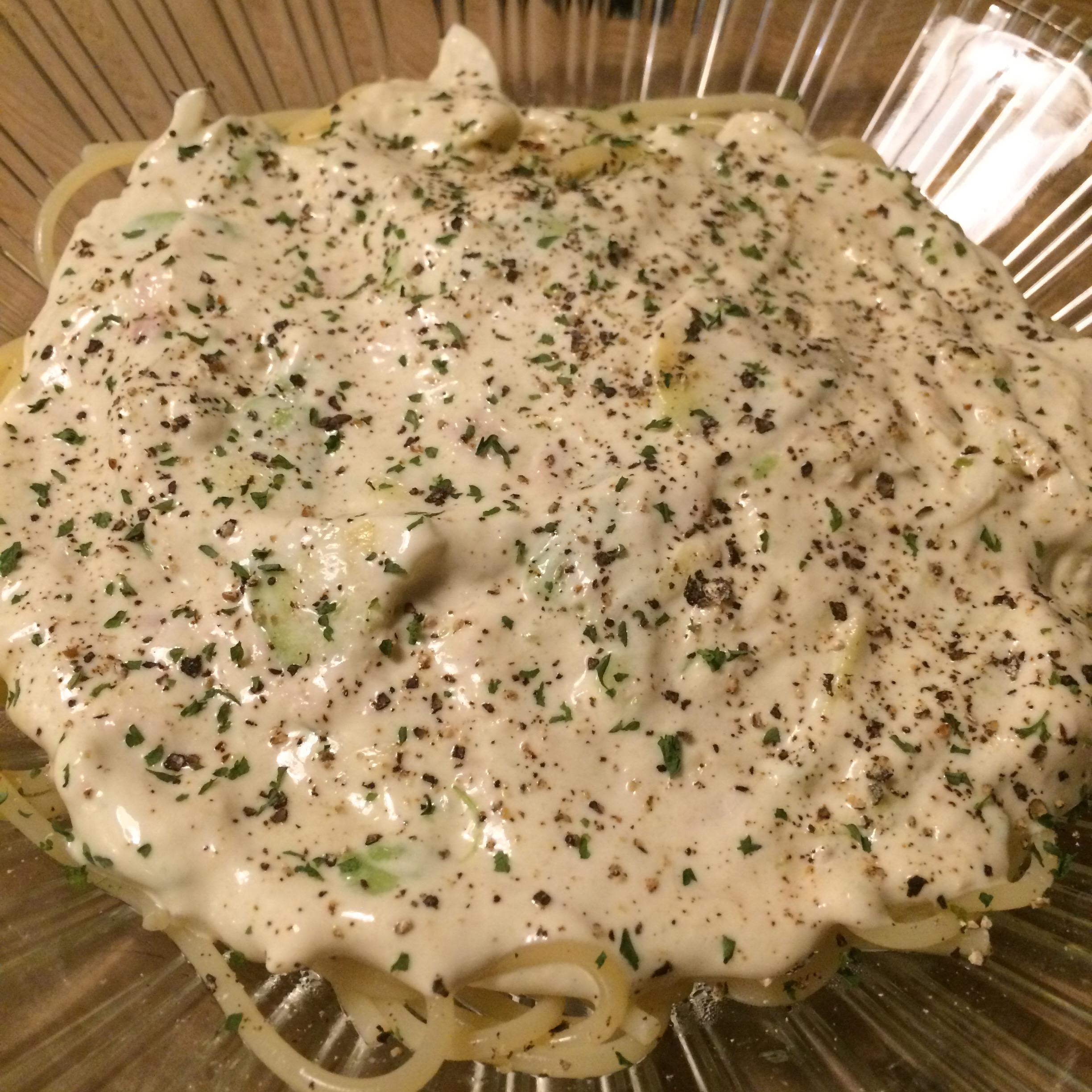 アボカドのスパゲッティ