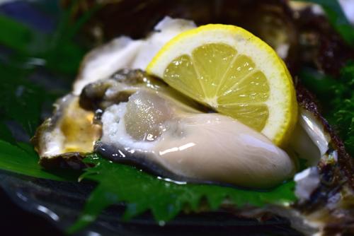 鳥海山の岩牡蠣